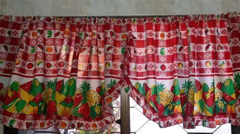 como hacer unas cortinas de cocina como hacer unas cortinas cenefas para la cocina