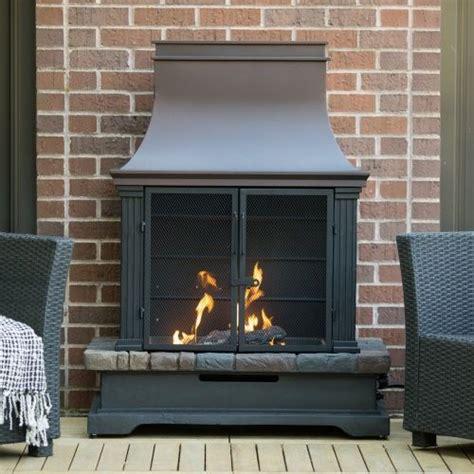 indoor chiminea fireplace ember fairfield propane fireplace fireplaces chimineas at hayneedle 499 50