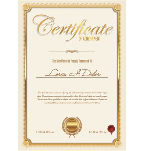 certificate design vector eps vector template certificates design graphics 02 welovesolo
