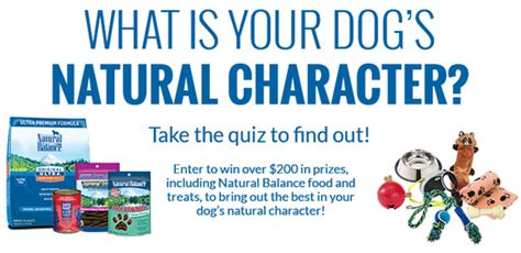 dog food coupons january 2015 enter to win 200 in natural balance dog food treats