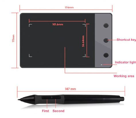 Deal Xp Pen Wireless Smart Graphics Drawing Pen Tablet With Passi huion h420 4 x 2 23 quot graphics drawing tablet wireless pen for windows mac os ebay