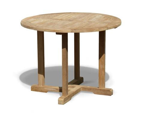 canfield teak outdoor dining table