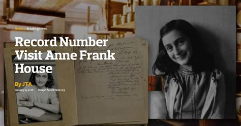 anne frank biography book report anne frank house sets record for number of visitors the