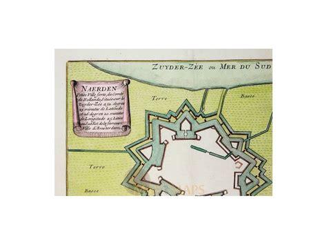 naarden netherlands map naarden town plan naerden cartographer de fer 1696