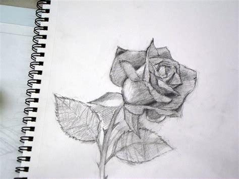 imagenes de amor bonitas para poder dibujar sombreadas el taller de miguel angel c 243 mo dibujar una rosa