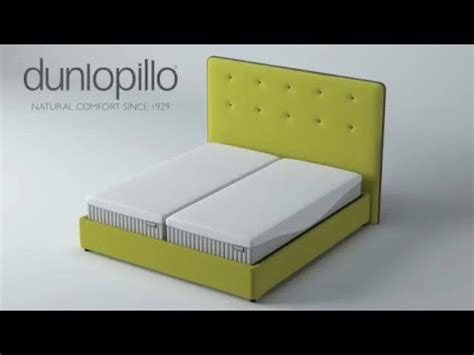 dunlopillo adjustable electric bed assembly