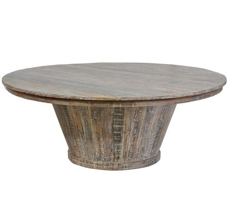 hampton reclaimed wood large  dining table  zin home