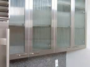 Kitchen Cabinets Glass Doors Frosted Glass Kitchen Cupboard Doors