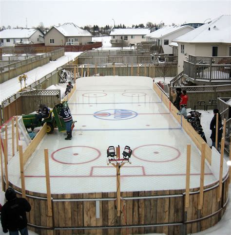 ice rink for backyard backyard ice rink blog outdoor furniture design and ideas