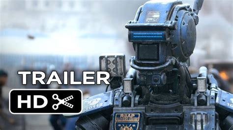 film robot video chappie official trailer 1 2015 hugh jackman