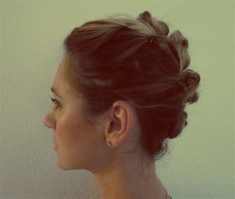 3 mohawk buns messy bun mohawk tutorial hair pinterest