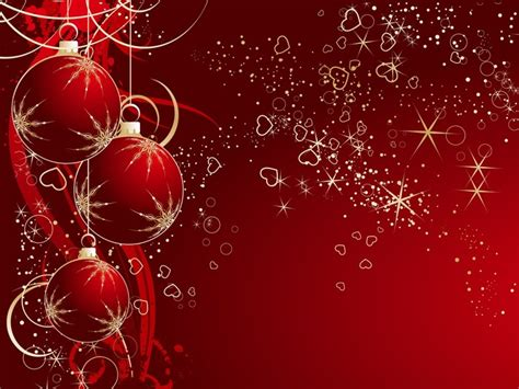 theme natal definition xmas background red hearts balls