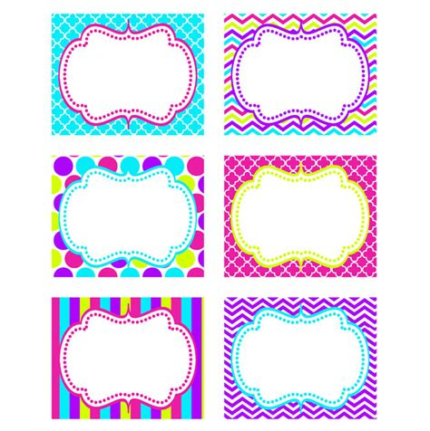 large printable name tags 5 best images of large printable labels free editable