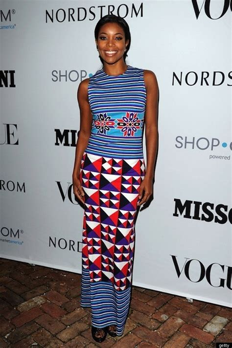 Style Gabrielle Union Fabsugar Want Need by Travel National Dresses Around Africa Potentash