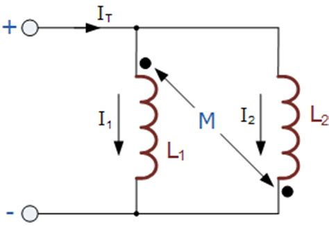 two inductors in parallel two coupled inductors connected in parallel