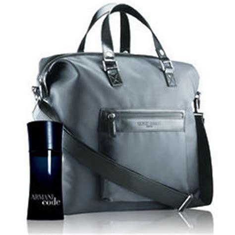 Bag Giorgio Armani Grey Premium Kode 162 2 armani code duffle bag set findgift