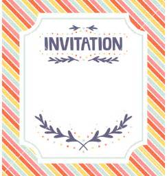 Invitations Templates by Free Wedding Invitation Card Templates