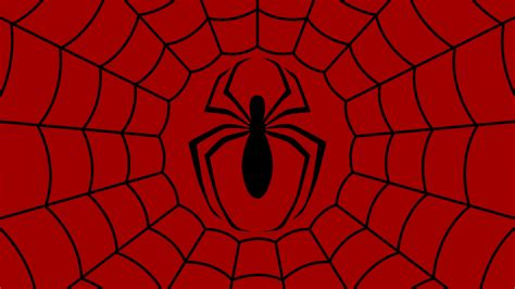 red pattern web spider man symbol wp by morganrlewis on deviantart