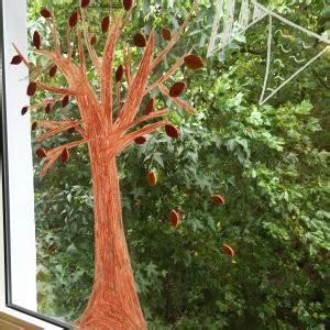 Herbst Fenster Bemalen by Basteln Wir F 252 R Den Herbst Kinder Kommt Essen