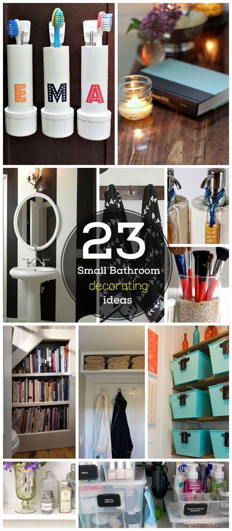 23 small bathroom decorating ideas on a budget craftriver toothbrush holders picmia