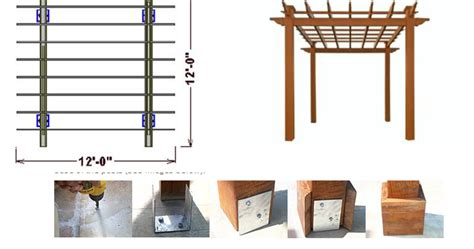 materials needed to build a pergola pergoladiy draw your own pergola plans