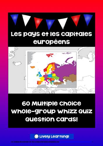 recall card template pays d europe capitales et specialites by uk teaching