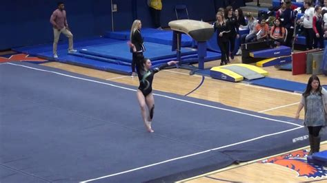 ihsa sectional ihsa gymnastics he sectionals 2 7 18 floor 9 125 youtube