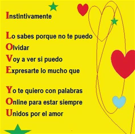 acrostico de la palabra en ingles espanol acrostico con palabra familia images