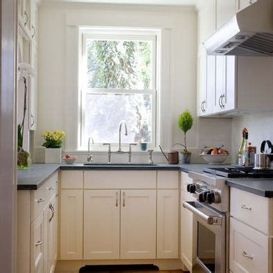 u shaped galley kitchen designs u shaped small kitchen with soapstone white cabinetry
