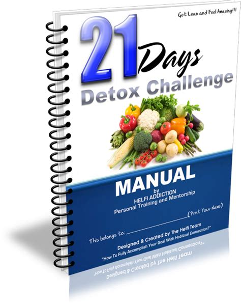 21 Day Detox Challenge Manual by Brisbane Personal Supports St Joseph S