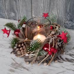 advent dekoration holzkranz mit deko windlicht advent adventskranz