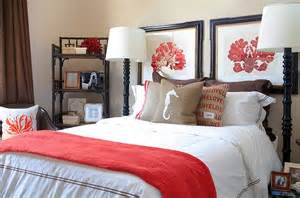 Coral Bedroom Ideas Hot Color Trends Coral Teal Eggplant And More