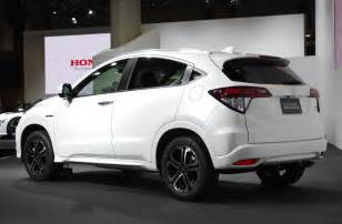 Honda Hrv Hybrid Honda Vezel Revealed In Japan Is Coming To The Us Live