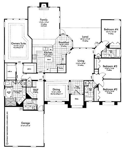2 master suite floor plans house plans with 2 master suites 5 bedroom house plans