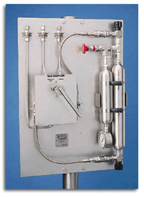 gas sampler single valve 6 port switching by sampling systems