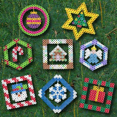 bead ornament patterns ornaments perler