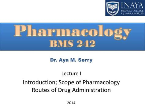 Ppt Pharmacology Bms 242 Powerpoint Presentation Id 5247156 Pharmacology Ppt Presentation