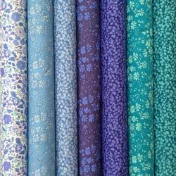 liberty fabric tana lawn classics 7 fat quarters
