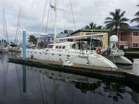 catamaran for sale rio dulce fountaine pajot marquises 56 catamaran for sale dock