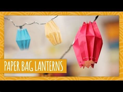 How To Make A Paper Bag Lantern - diy paper bag lanterns hgtv handmade