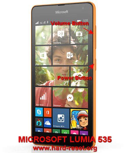 microsoft lumia 535 how to hard reset my phone how to easily master format microsoft lumia 535 dual