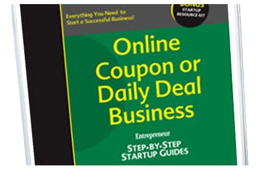 start coupon business