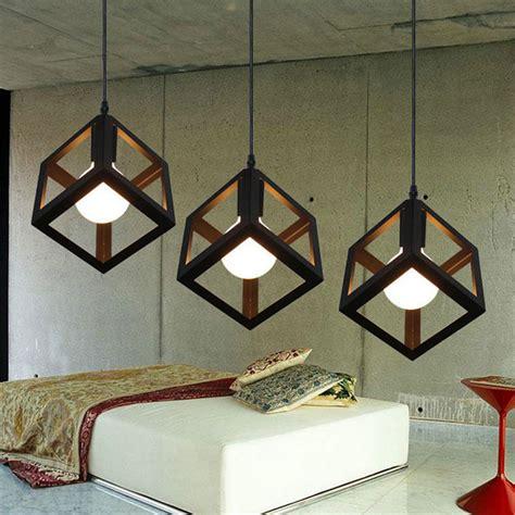 modern led pendant lights l pendant lights modern led pendant l metal cube