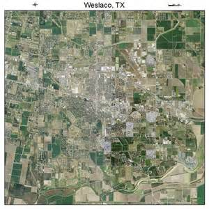 aerial photography map of weslaco tx