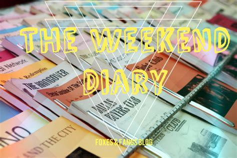 The Weekend Readthe Weekend Readfoto Thinkweb 3 by So The Weekend I Foxes Fangs