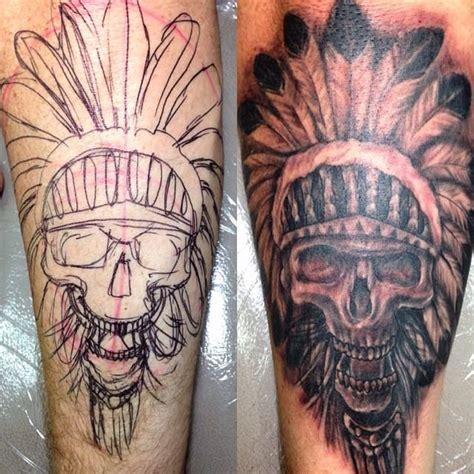 ibud tattoo bali reviews 35 majestic indian chiefs skull tattoos tattoodo