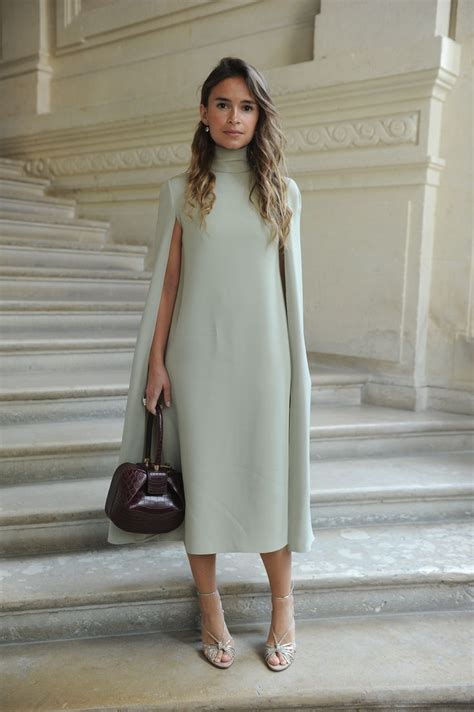 St Dress Muslim Stella Maxy Miroslava Duma Wearing A Valentino Dress From The Fall