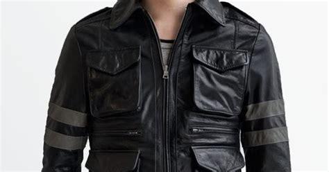 Jaket Kulit Resident Evil Bikers Z 06 jaket kulit resident evil fashion cowok toko jaket