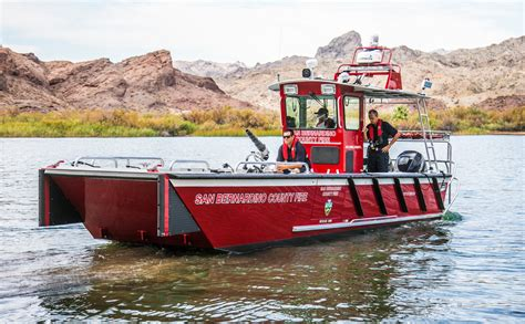 lake rescue boats lake assault builds fire rescue boats for san bernardino