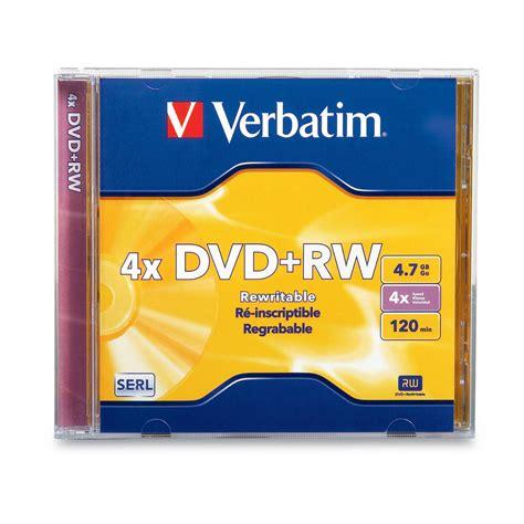 Murah Dvd Rw Verbatim 4x 4 7 Gb Tabung Isi 10 Keping dvd rw 4x verbatim regrabable ebay
